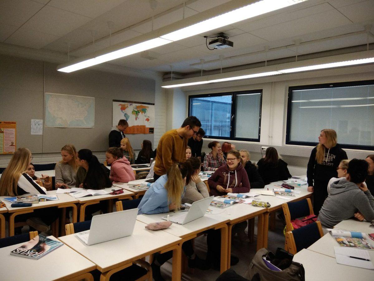Erasmus a Finlandia d'infermeria